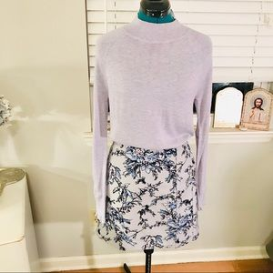 NWT Loft Sweater with ruffle sleeves